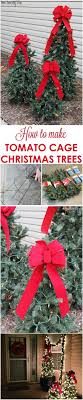 How To Make Outdoor Christmas Tree Out Of Lights 30 Amazing Diy Outdoor Christmas Decoration Ideas For