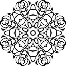 Disegno Di Mandala Da Colorare Mandala 23902390 Png Trasparente