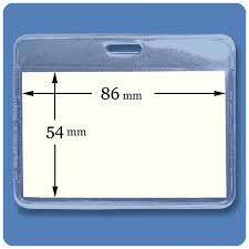 identity card size biele print