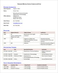 doctor cv sample sample medical cv template 7 download documents in pdf