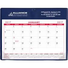 Basic Calendars Promotional Stock Colors Basic Desk Pad Calendar Doodle Pads With