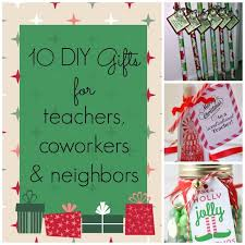 10 diy gifts for teachers coworkers neighbors