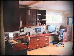 two person desk home office. Ideas Two Person Desk Home Office Design House Charming Impeccable Wooden Cabinets Andtwo Also Surprising Shelf