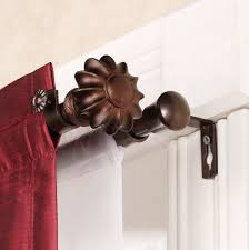 double curtain rod set home depot interior decor ideas with brackets