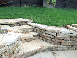 stackable stone retaining wall natural retaining wall stone steps mo faux stacked stone retaining wall