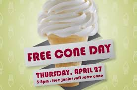 carvel s free cone day on april 27 will help support american red cross
