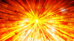 Red Light Burst Abstract Red And Yellow Light Burst Background
