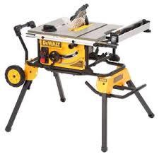 dewalt table saw 7480. dewalt 15 amp 10 in. job site table saw with rolling stand-dwe7491rs - the home depot dewalt 7480 n