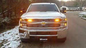 Led Strobe Light Kits For Plow Trucks 2017 Chevy Service Body Led Strobe Light Package From Www Wickedwarnings Com