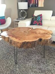 tree trunk dining table coffee table tree trunk table with metal legs tree trunk dining table