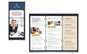 Brochure Templates Publisher Free Brochure Template Microsoft Word