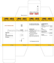 Medical Urine Color Chart 4 Parameters Urine Test Strips Color Chart Medical Diagnostic Test Kits Urs 4sg Buy Medical Diagnostic Test Kit Urine Test Strips Color Chart Home