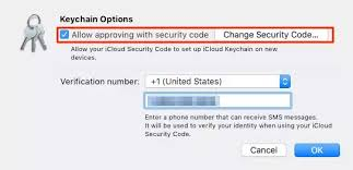 Icloud Security Code How To Create A New Icloud Keychain Security Code Quora