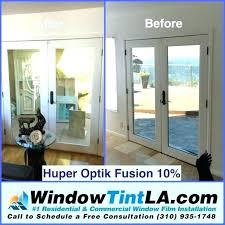 sliding glass door tint tinting storm one way privacy should i my sliding glass door tint