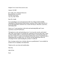 New Grad Nurse Cover Letter Example Lpn Cover Letter Sample Cover