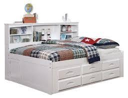 White bookcase storage bed Shore Tiara View Full Collection Pideya Addie Big Bookcase Storage Bed White