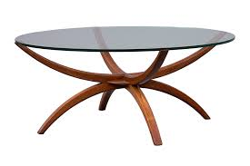 spider legs coffee table mid century modern danish design photo