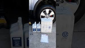 Subaru Oil Capacity Chart Subaru Outback Cvt Fluid Change 2010 2014 Gen 4