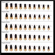 35 Matter Of Fact Nail Shape Chart