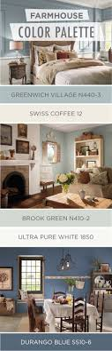 Check out this collection of farmhouse chic color palettes from BEHR Paint  to find the perfect rustic color scheme for ...