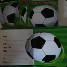 Soccer Party Invite Soccer Party Invites Sports Themed Birthday Invitations