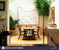 country dining room chairs. Modern Country Dining Room Wood Panelling Table Chairs Wicker Planters Indoor Plants Interiors Rooms Double Through Through-room Natural Co O