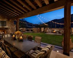 image of decorative outdoor string lights