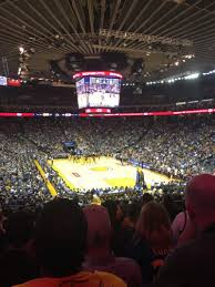 Oakland Warriors Seating Chart Oracle Arena Section 109 Row 25 Seat 8 Golden State