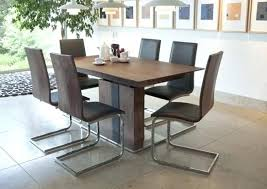 extending dining table and 6 chairs walnut extending dining table 6 chairs solid oak round extending