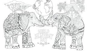Coloring Pages Baby Elephant Coloring Book Gallery Free Download