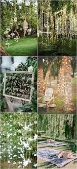 25 brilliant garden wedding decoration