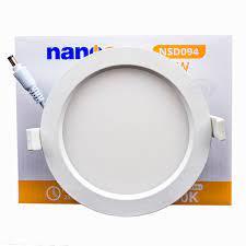 Đèn LED âm trần siêu mỏng 9W Nanoco