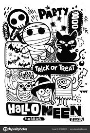 Scheda Dell Invito Festa Halloween Zucca Carina Fantasmi Bambini