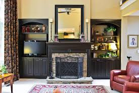 Built In Cabinets Beside Fireplace Creative Cabinets Faux Finishes Llc Ccff Bookcases And