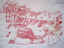 Airing the Quilts Wall Hanging | Embroidery, Reverse applique and ... & Airing the Quilts Wall Hanging. Christmas Embroidery PatternsHand ... Adamdwight.com