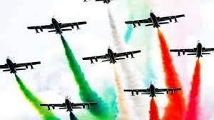 Lo show delle Frecce tricolori sui cieli berici