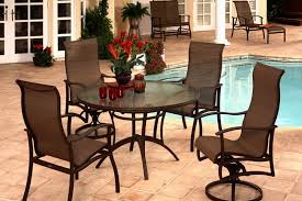 aluminum sling patio furniture. Albany Aluminum Sling Dining Collection By Mallin Outdoor Patio Furniture I