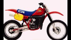 honda motocross bikes 1973 2014 youtube