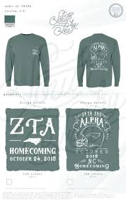 Designs For Homecoming Shirts Zeta Tau Alpha Zta Homecoming North Carolina