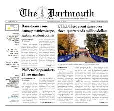 Phi Beta Kappa Hall Seating Chart The Dartmouth 10 24 2019 By The Dartmouth Newspaper Issuu