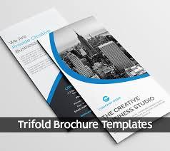 Trifold Brochure Templates Design Graphic Design Junction