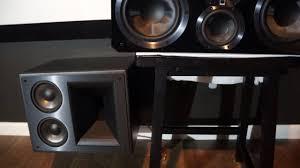 klipsch thx speakers. klipsch 525 thx ultra 2 vs svs center speakers amatuer comparison thx