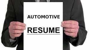 Automotive Resume Writing Tutorial Youtube