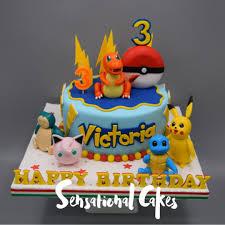 Pokemon Theme Kiddie Birthday 3d Cake Singapore Pokemonkiddietheme