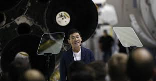 Japanese billionaire is looking for <b>eight</b> people to join him for a ...