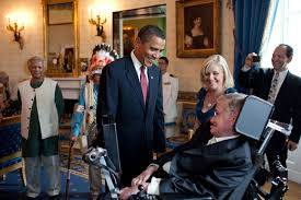 who is stephen hawking universe today president barack obama talks stephen hawking in the blue room of the white house before