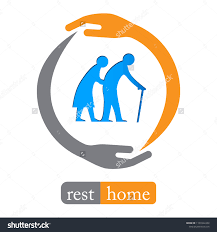 Designing A Retirement Home Retirement Home Logo Design Stock Image Download Now