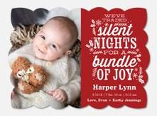 Christmas Birth Announcement Ideas Holiday Birth Announcements Photoaffections