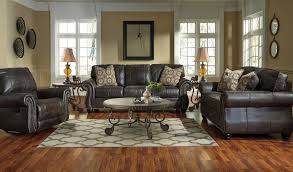 Three Piece Living Room Set Signature Design By Ashley Breville Charcoal 3 Piece Living Room