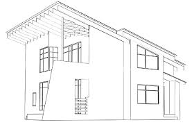 architectural house drawing. Plain House Architecture House Drawing Sidecrutex Modern Houses Architectural Drawings  Spurinteractive Amazing Designs Plan And Elevation Two Story Contemporary Plans  With U
